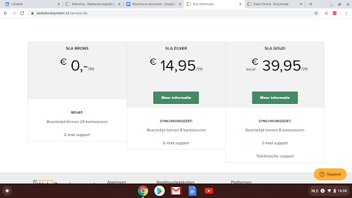 iwebdevelopment prijzen